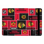 Chicago Blackhawks Nhl Block Fleece Fabric Samsung Galaxy Tab Pro 10.1  Flip Case Front