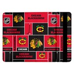 Chicago Blackhawks Nhl Block Fleece Fabric Samsung Galaxy Tab Pro 12.2  Flip Case Front
