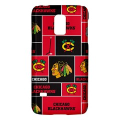 Chicago Blackhawks Nhl Block Fleece Fabric Galaxy S5 Mini