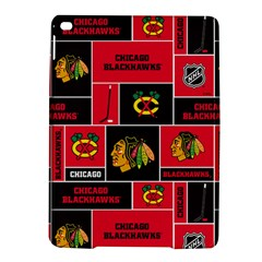 Chicago Blackhawks Nhl Block Fleece Fabric iPad Air 2 Hardshell Cases