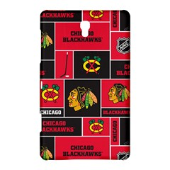 Chicago Blackhawks Nhl Block Fleece Fabric Samsung Galaxy Tab S (8.4 ) Hardshell Case