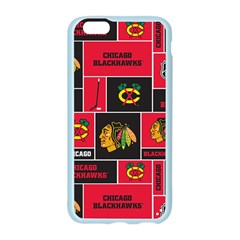 Chicago Blackhawks Nhl Block Fleece Fabric Apple Seamless iPhone 6/6S Case (Color)