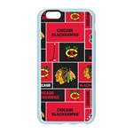 Chicago Blackhawks Nhl Block Fleece Fabric Apple Seamless iPhone 6/6S Case (Color) Front