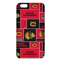Chicago Blackhawks Nhl Block Fleece Fabric Iphone 6 Plus/6s Plus Tpu Case
