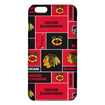 Chicago Blackhawks Nhl Block Fleece Fabric iPhone 6 Plus/6S Plus TPU Case Front