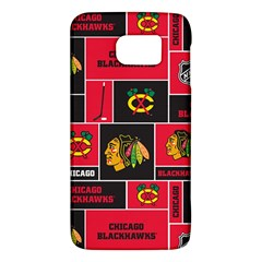 Chicago Blackhawks Nhl Block Fleece Fabric Galaxy S6
