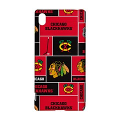 Chicago Blackhawks Nhl Block Fleece Fabric Sony Xperia Z3+