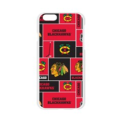 Chicago Blackhawks Nhl Block Fleece Fabric Apple Seamless iPhone 6/6S Case (Transparent)