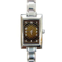 Bring Me The Horizon Cover Album Gold Rectangle Italian Charm Watch