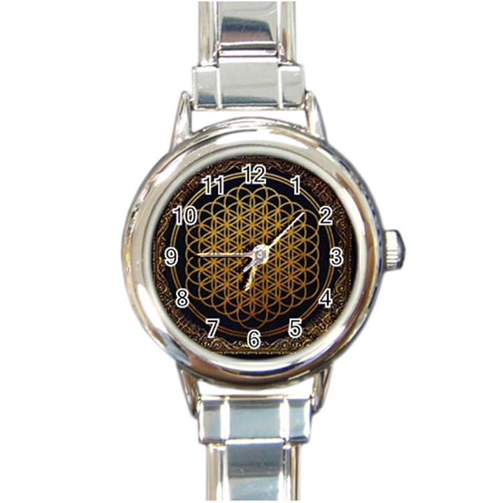 Bring Me The Horizon Cover Album Gold Round Italian Charm Watch