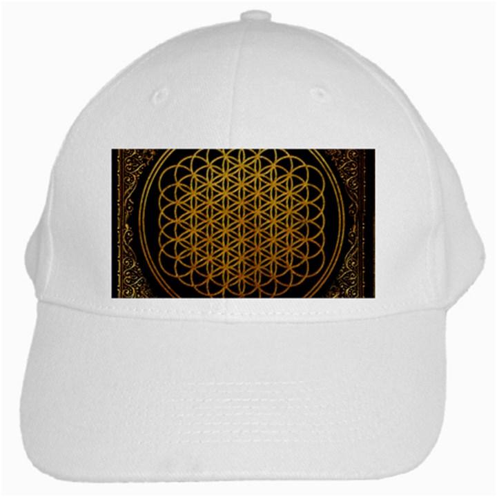 Bring Me The Horizon Cover Album Gold White Cap