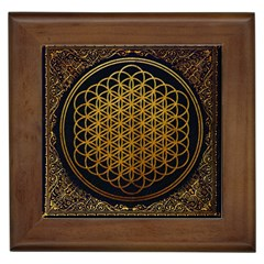 Bring Me The Horizon Cover Album Gold Framed Tiles