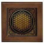 Bring Me The Horizon Cover Album Gold Framed Tiles Front