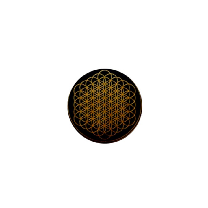 Bring Me The Horizon Cover Album Gold 1  Mini Buttons