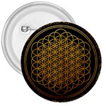 Bring Me The Horizon Cover Album Gold 3  Buttons Front