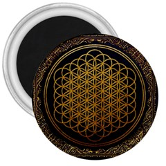 Bring Me The Horizon Cover Album Gold 3  Magnets