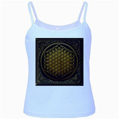 Bring Me The Horizon Cover Album Gold Baby Blue Spaghetti Tank
