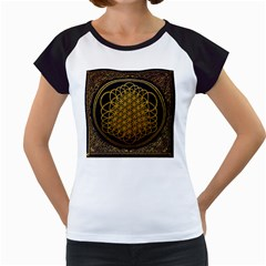 Bring Me The Horizon Cover Album Gold Women s Cap Sleeve T