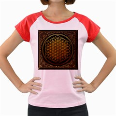 Bring Me The Horizon Cover Album Gold Women s Cap Sleeve T-Shirt