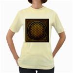 Bring Me The Horizon Cover Album Gold Women s Yellow T-Shirt Front