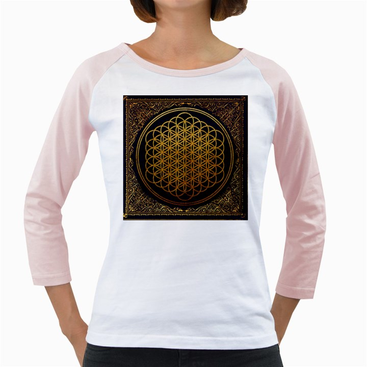 Bring Me The Horizon Cover Album Gold Girly Raglans