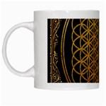 Bring Me The Horizon Cover Album Gold White Mugs Left