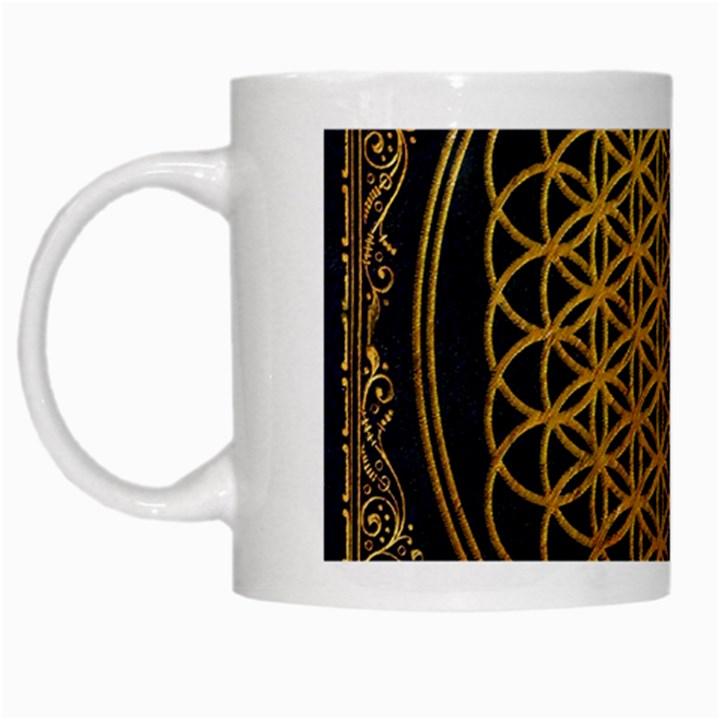 Bring Me The Horizon Cover Album Gold White Mugs