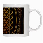Bring Me The Horizon Cover Album Gold White Mugs Right