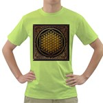 Bring Me The Horizon Cover Album Gold Green T-Shirt Front