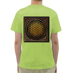 Bring Me The Horizon Cover Album Gold Green T-Shirt Back