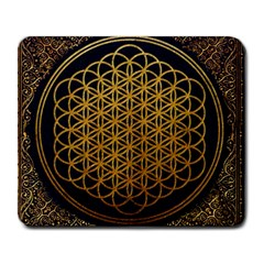 Bring Me The Horizon Cover Album Gold Large Mousepads