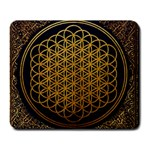 Bring Me The Horizon Cover Album Gold Large Mousepads Front