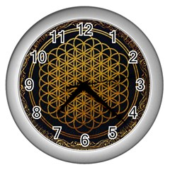 Bring Me The Horizon Cover Album Gold Wall Clocks (silver)
