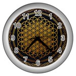 Bring Me The Horizon Cover Album Gold Wall Clocks (Silver)  Front