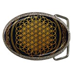 Bring Me The Horizon Cover Album Gold Belt Buckles Front