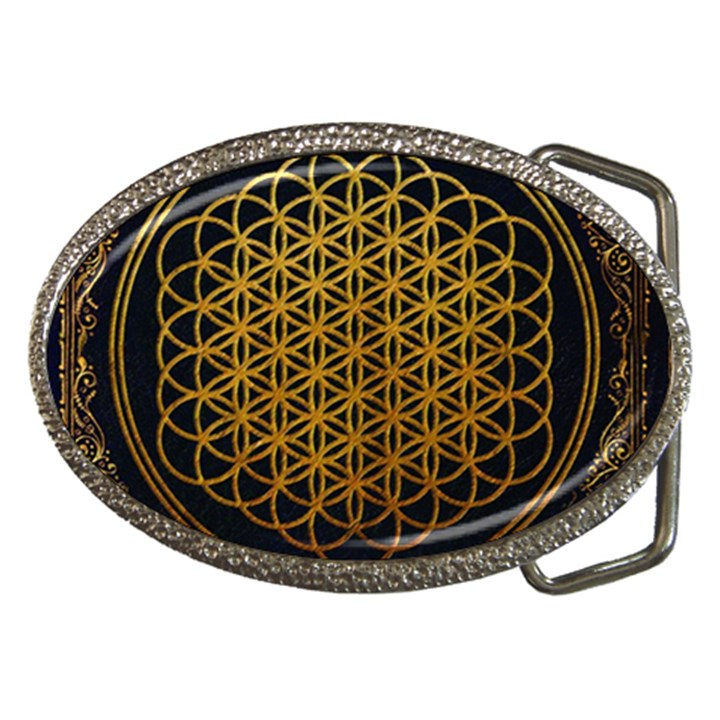 Bring Me The Horizon Cover Album Gold Belt Buckles