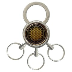 Bring Me The Horizon Cover Album Gold 3-Ring Key Chains
