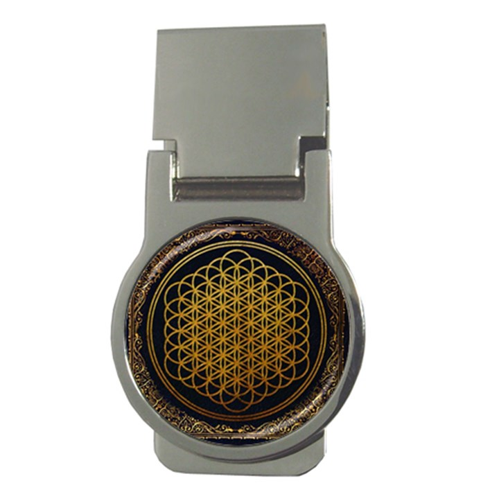 Bring Me The Horizon Cover Album Gold Money Clips (Round)