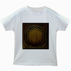 Bring Me The Horizon Cover Album Gold Kids White T Shirts