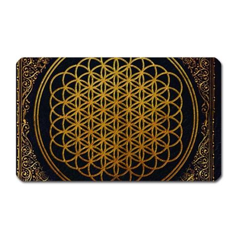 Bring Me The Horizon Cover Album Gold Magnet (Rectangular)