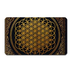 Bring Me The Horizon Cover Album Gold Magnet (Rectangular)