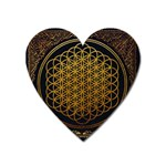 Bring Me The Horizon Cover Album Gold Heart Magnet Front
