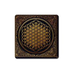 Bring Me The Horizon Cover Album Gold Square Magnet