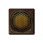 Bring Me The Horizon Cover Album Gold Square Magnet Front
