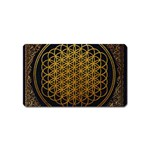 Bring Me The Horizon Cover Album Gold Magnet (Name Card) Front