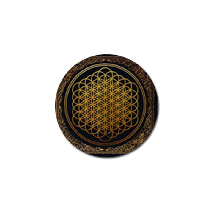Bring Me The Horizon Cover Album Gold Golf Ball Marker (4 pack)