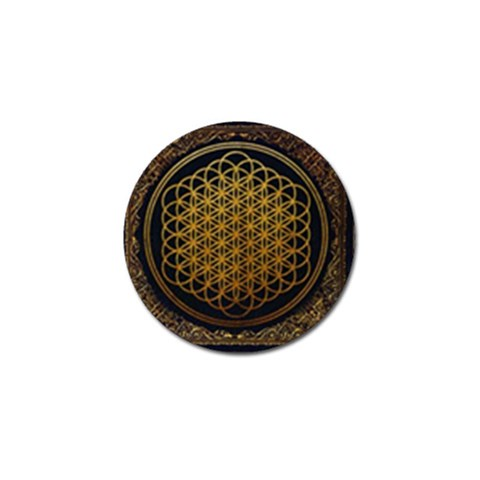 Bring Me The Horizon Cover Album Gold Golf Ball Marker (10 pack)