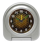 Bring Me The Horizon Cover Album Gold Travel Alarm Clocks Front
