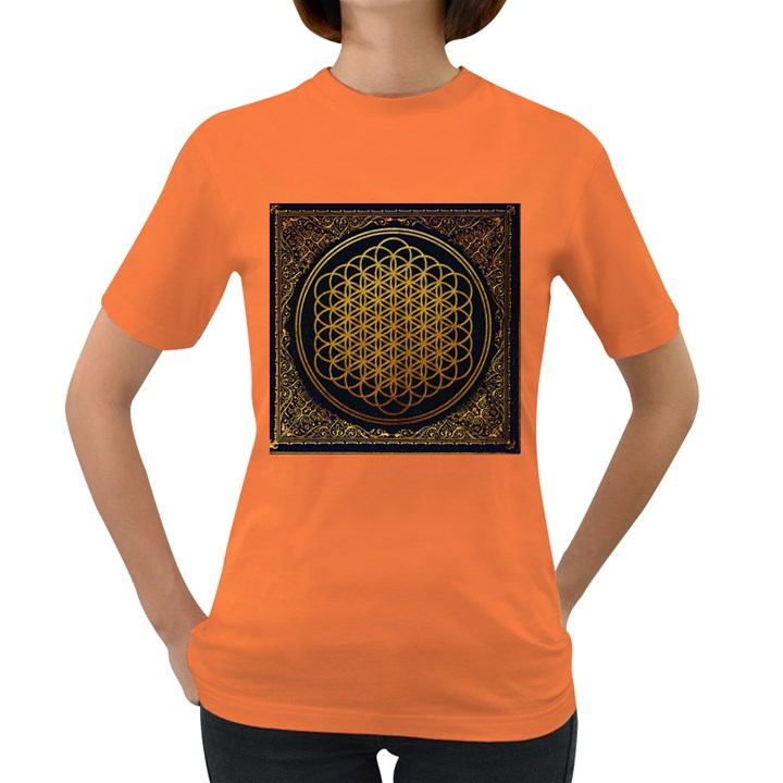 Bring Me The Horizon Cover Album Gold Women s Dark T-Shirt