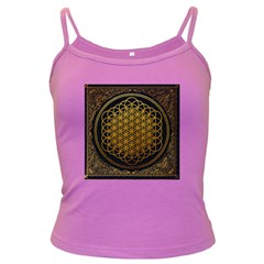 Bring Me The Horizon Cover Album Gold Dark Spaghetti Tank
